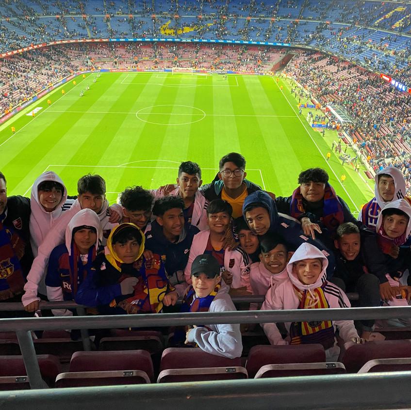 At FCB game
