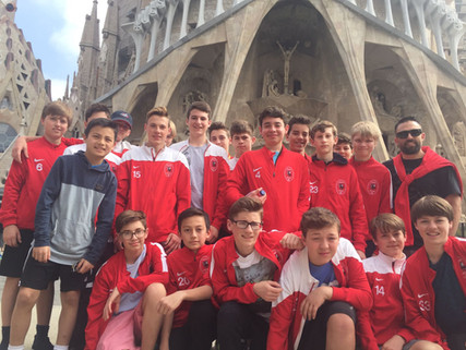 After an exciting week in Barcelona Capital Soccer Club have returned home!