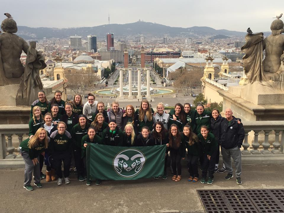 CSU Women in Barcelona