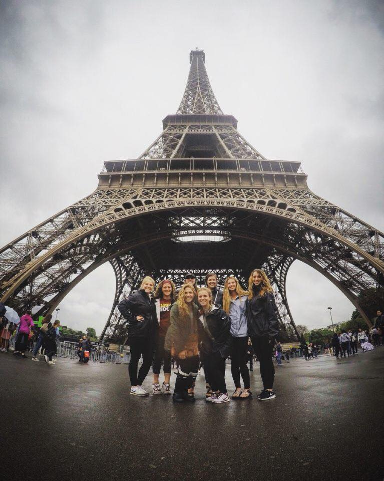 IUPUI Women's Soccer in Paris