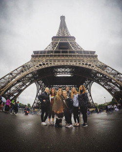 IUPUI Women's Soccer in Paris