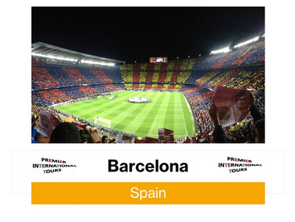 Experience soccer in one of the top soccer cities in the world: Barcelona!