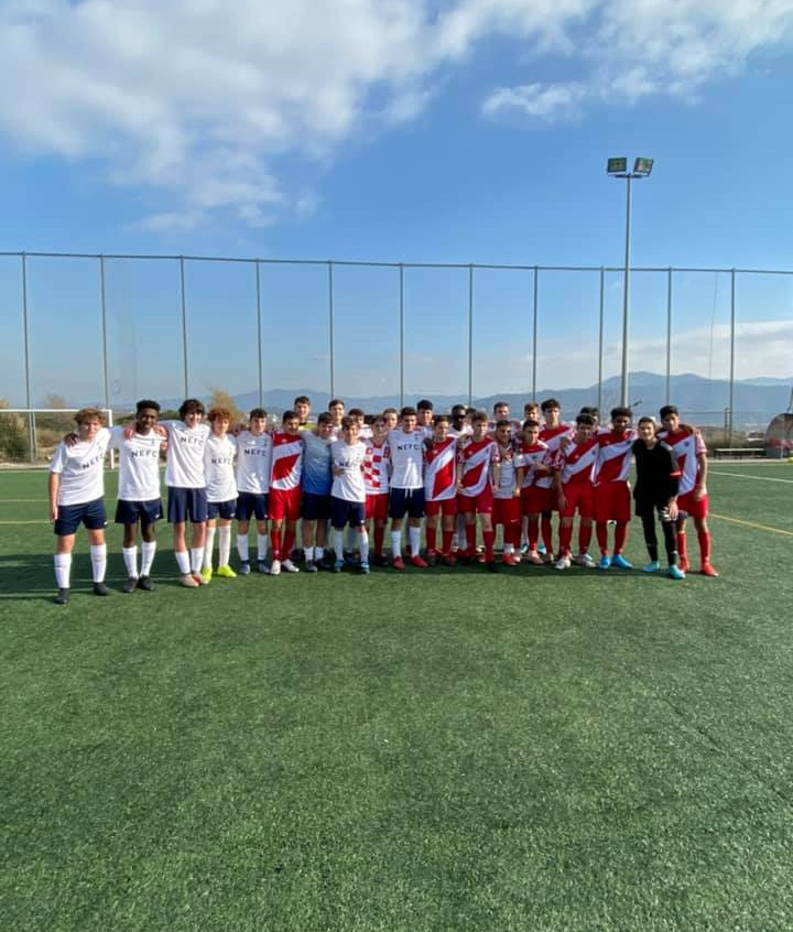 NEFC West traveled to Barcelona with 2 t