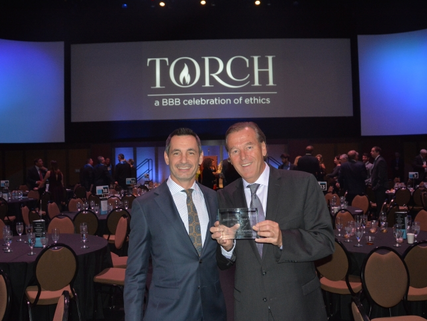 Premier International Tours was the runner up at the BBB's Torch Award!