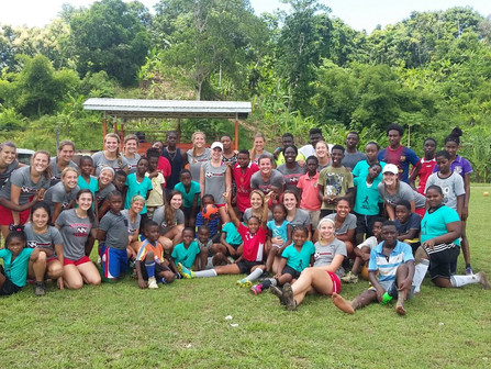 Northwest Nazarene University Women soccer team returned from a soccer tour to Trinidad and Tobago