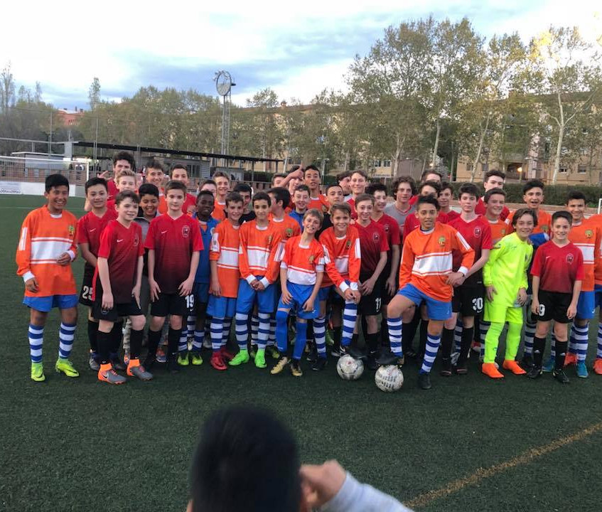 After an exciting week in Barcelona Capital Soccer Club has returned home!  (5)