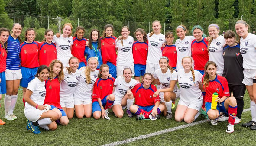 Huntsville F.C. '99 Girls Soccer just returned from a trip to the Spain  (4)