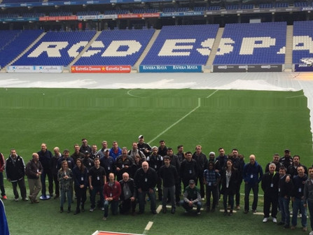 Premier International Tours took 50 soccer coaches to Barcelona