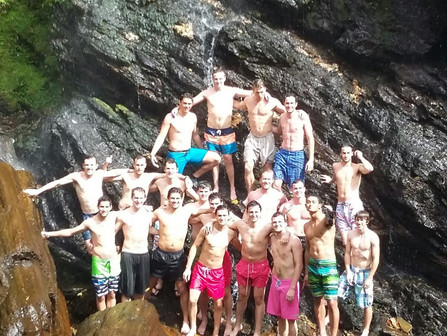 Duke University Men's Club Soccer team just returned from a soccer tour to Trinidad and Tobago