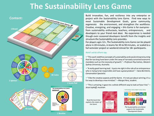 Sustainability Lens Board Game