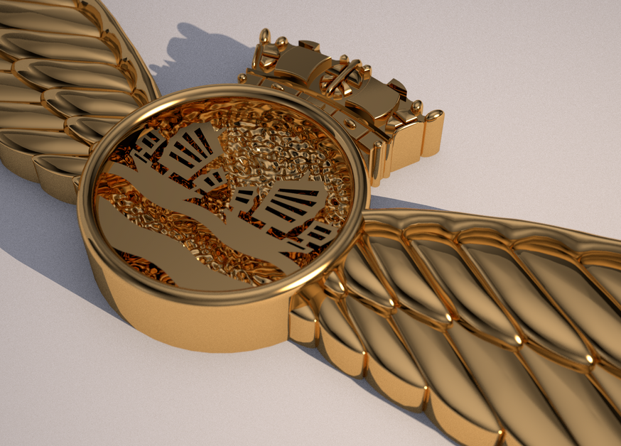 Kai Tak Ethos 3D logo