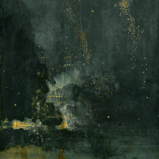 Un pot de peinture jeté à la face du public : Whistler et l'intuition de l'art abstrait