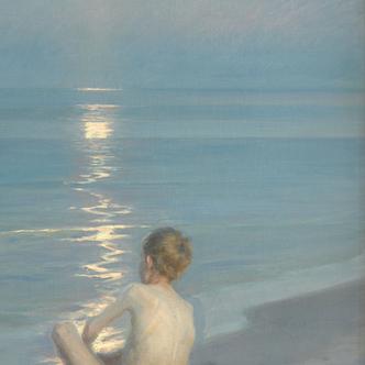L'Heure bleue de Peder Severin Krøyer