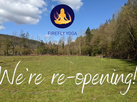 We're re-opening!