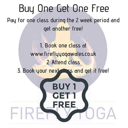 Buy One Get One FreePay for one class du