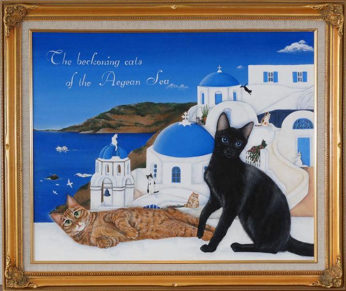 エーゲ海の猫たち