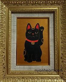 招き猫/左手