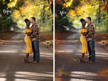 How to edit two different skin tones.