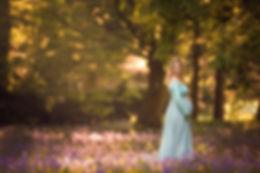 Maternity photosession_spring_bluebellss