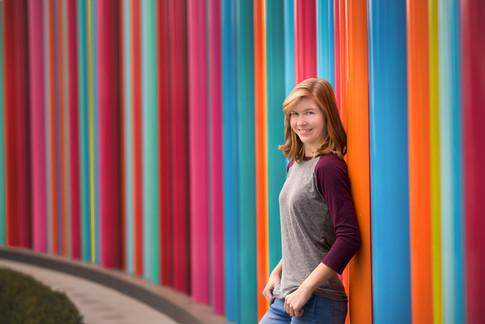 teen fashion rainbow background