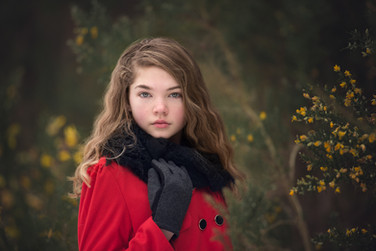 teen fashion red