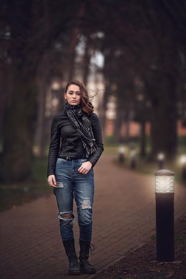 teen fashion blue jeans