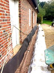assainissement fosse septique drainage