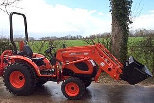 tracteur broyage kioti normandie location