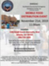 2019 NOV Mobile Food Distribution Flyer.
