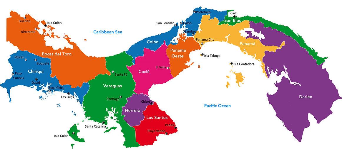 panama-karte-regionen