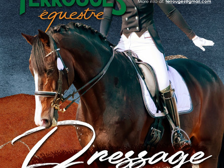 Graded and Training Dressage Series for 2021 at Terrouges Equestré. Save these dates:
