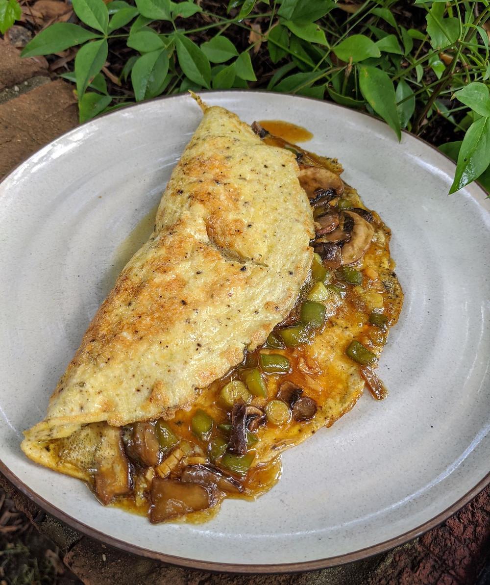 Teriyaki Omelette