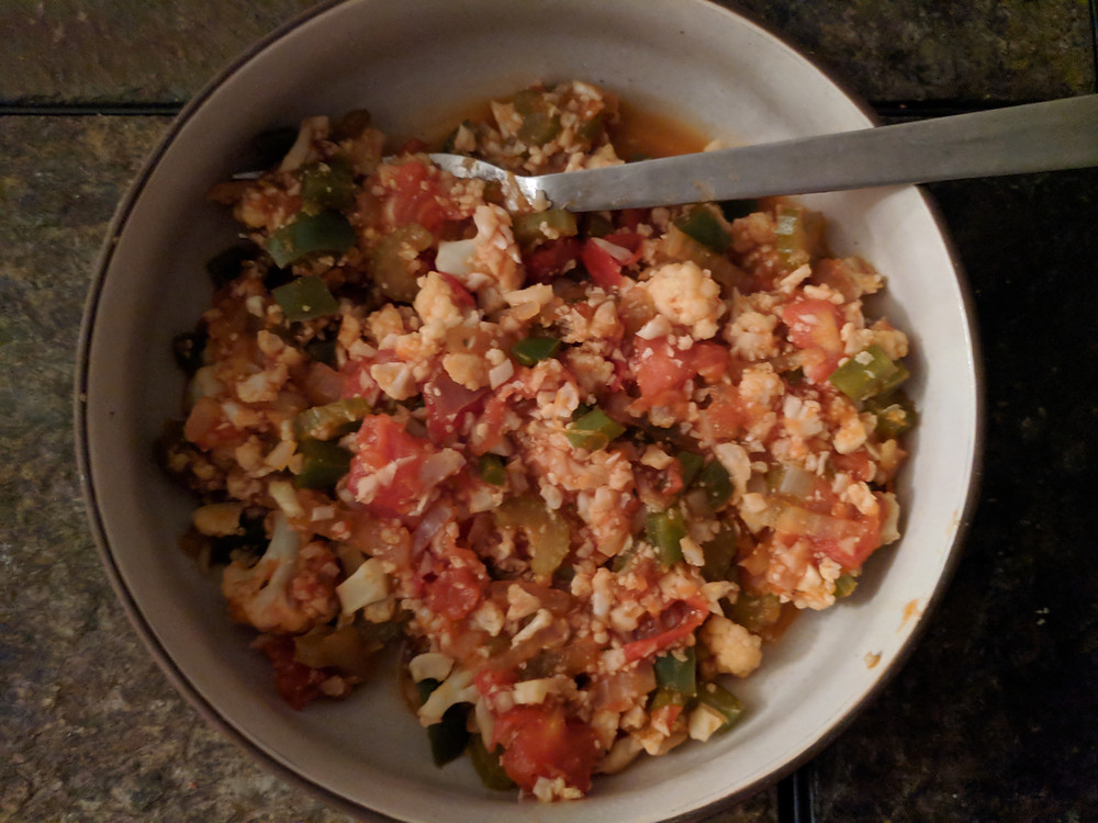 Cauliflower Jambalaya