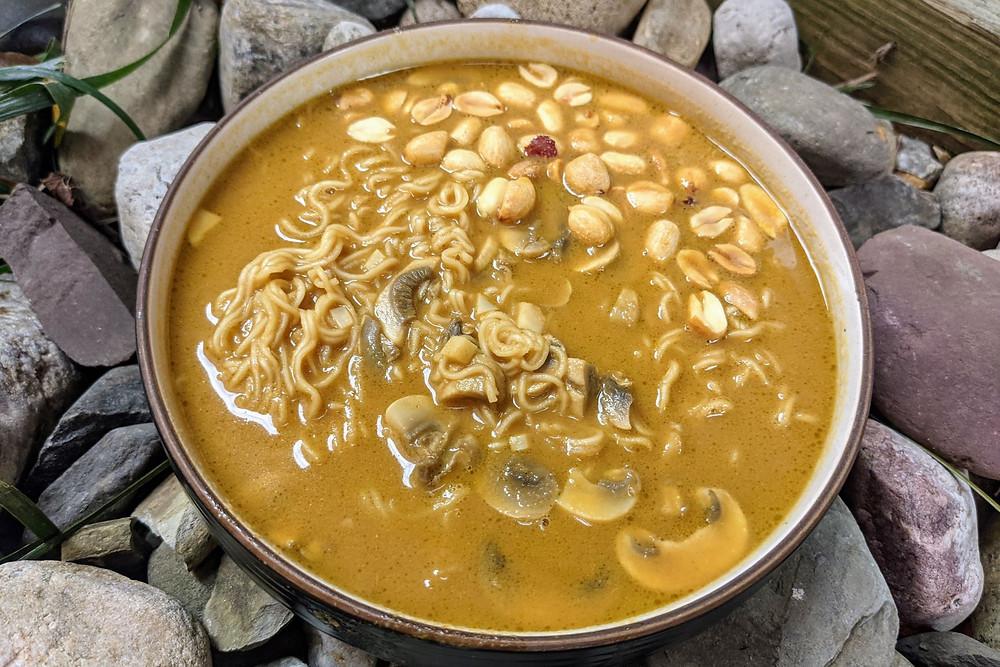 Peanut Coconut Ramen