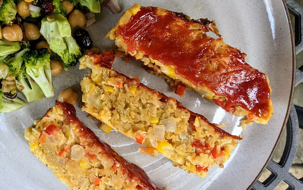 Barbecue Red Lentil Loaf
