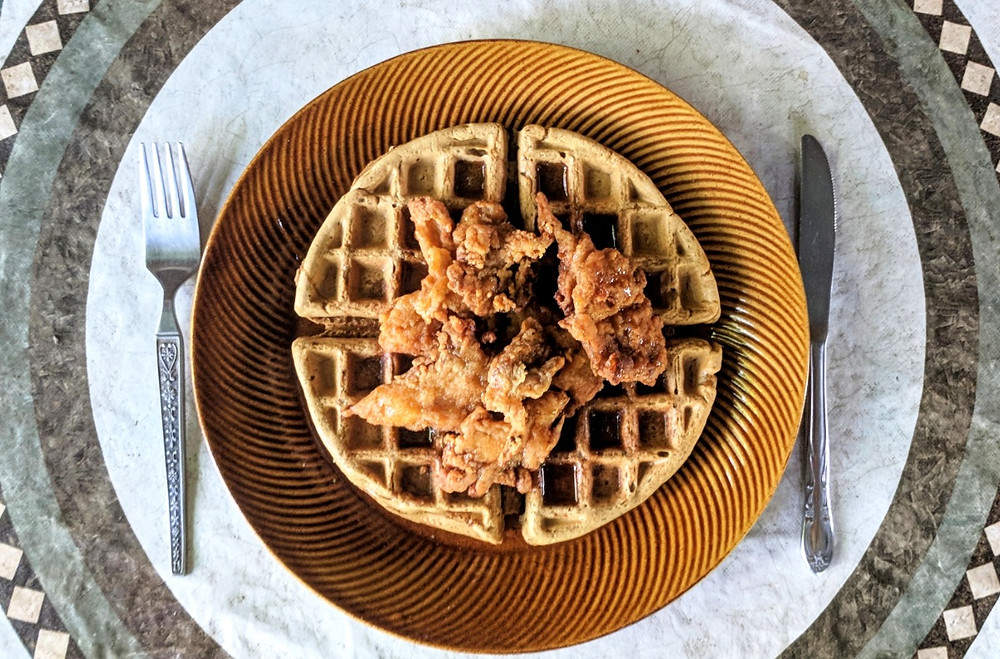 Un-chicken and waffles