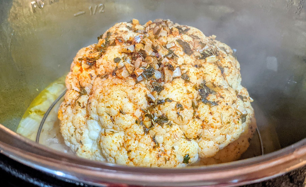 Instant Pot Cauliflower with Gravy