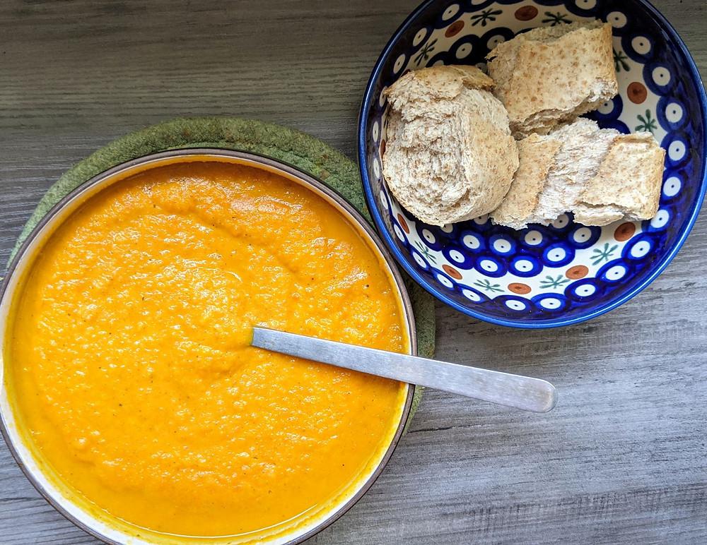 Garam Masala Carrot Soup