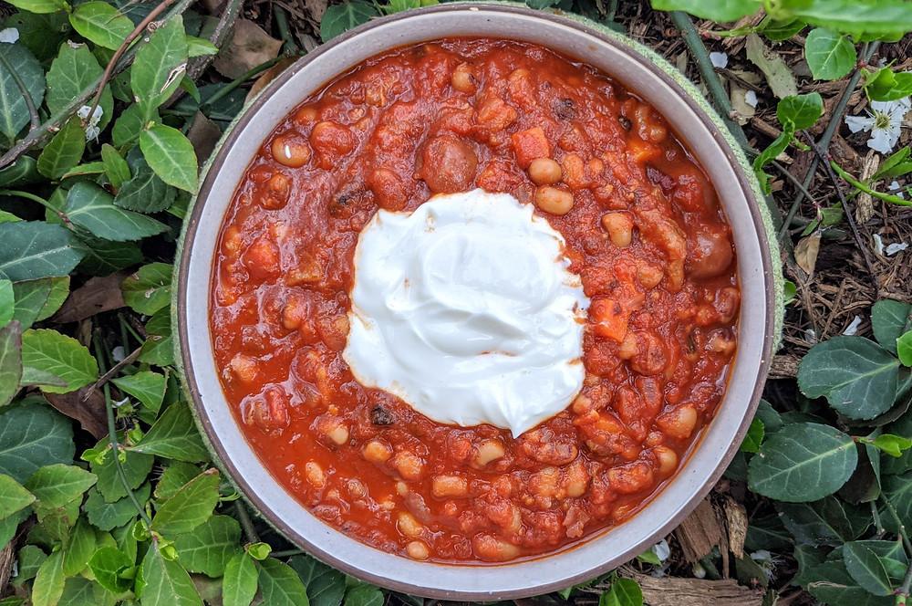 cherry chipotle chili
