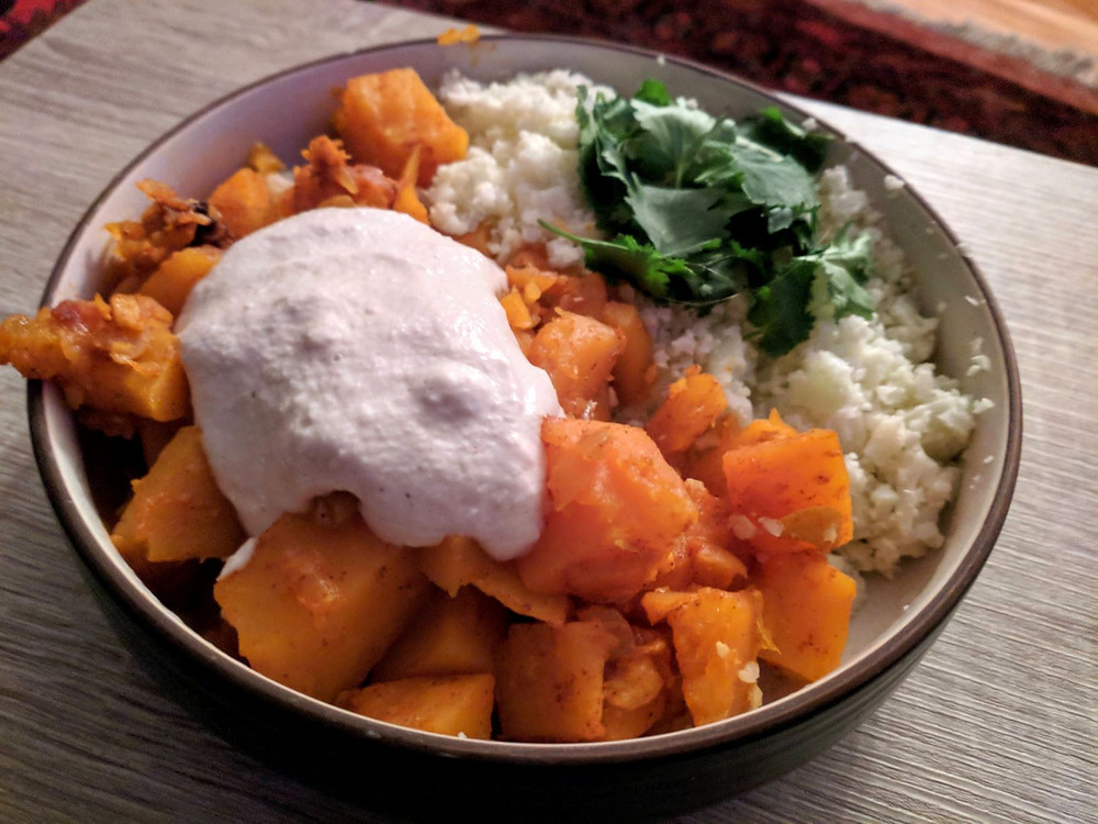 Spiced Afghan Butternut Squash Stew
