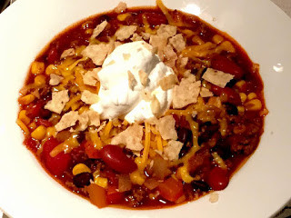 Healthy Turkey (or Beef) Chili