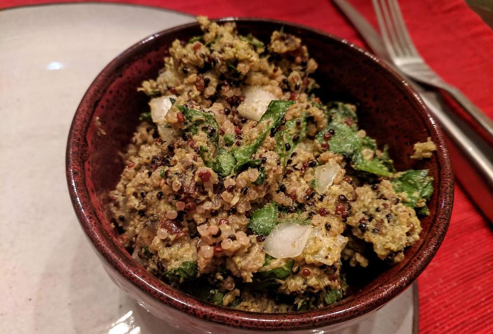 creamy quinoa