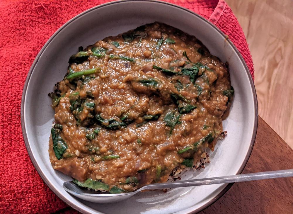 Instant Pot Ethiopian Lentil Stew