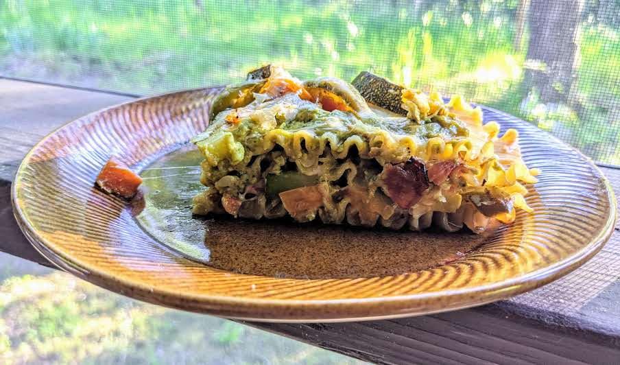 Mexican Vegetable Lasagna