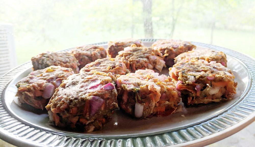 zucchini carrot fritters