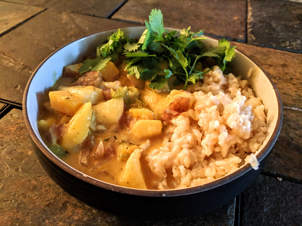 Jamaican Mango Stew