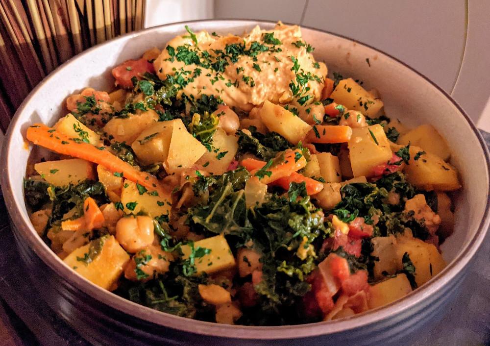 Berbere Potato & Chickpea Stew