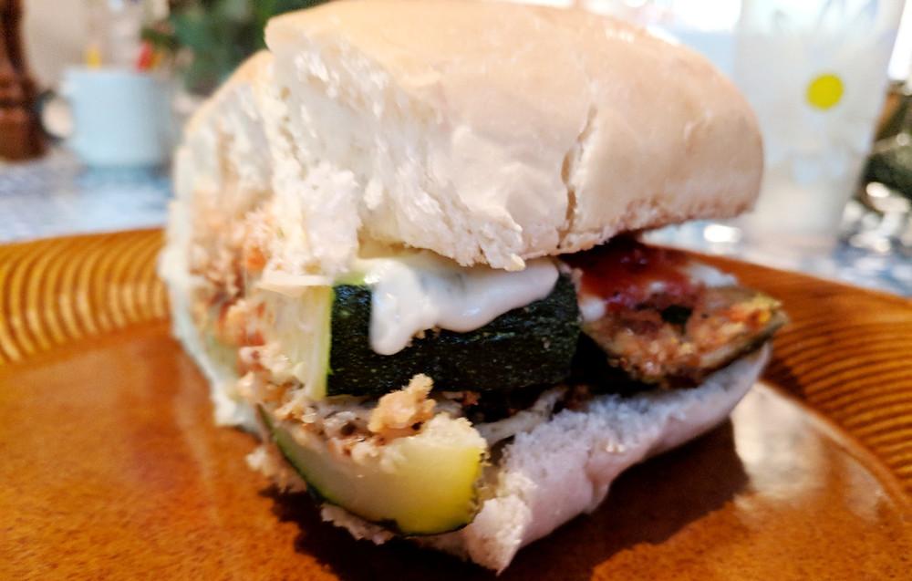 Zucchini Parm Sandwich