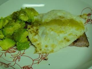 Ham, Eggs & Avocado