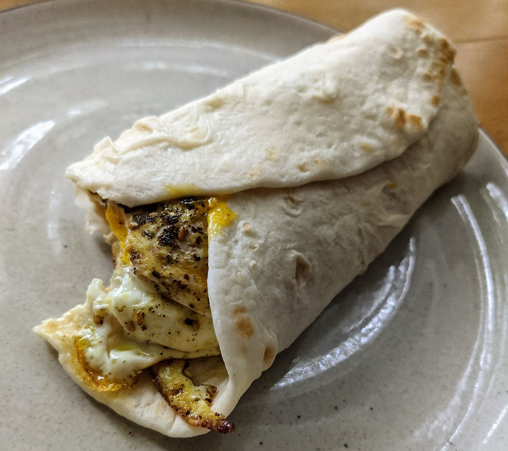 Middle Eastern Egg Wrap